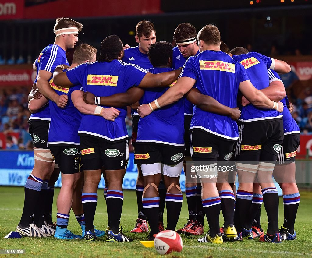 Western Province forwards during the Absa Currie Cup match between Vodacom Blue Bulls and DHL Western Province at Loftus Versfeld on August 22 2015...
