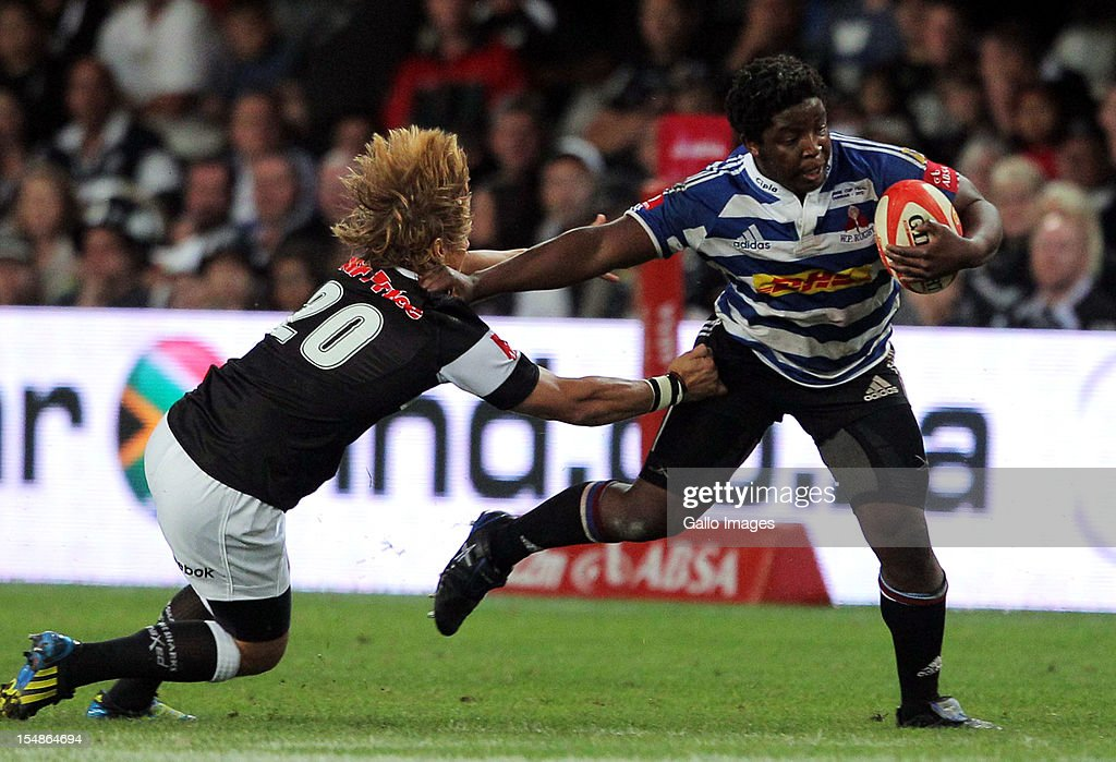 Western Province hooker Scarra Ntubeni in action during the Absa Currie Cup final match between The Sharks and DHL Western Province from Mr Price KINGS PARK on October 27, 2012 in Durban, South Africa.