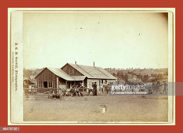 Western Ranch House John C H Grabill Was An American Photographer In 1886 He Opened His First Photographic Studio