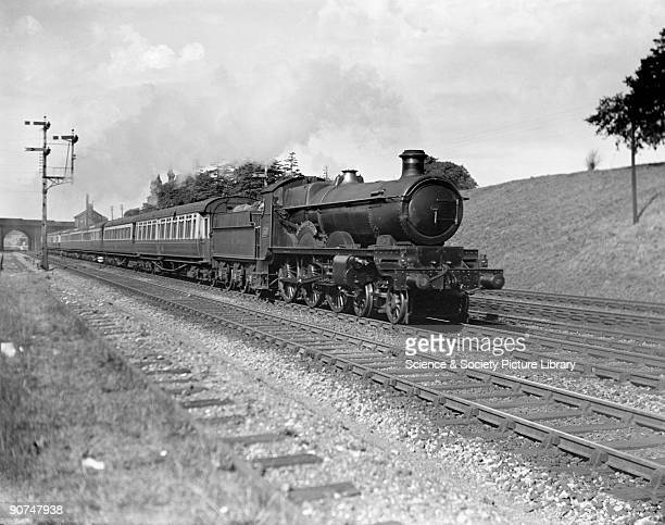 Western Star' steam locomotive 9 August 1933 Great Western Railway's Star class 460 steam locomotive with the 645am passenger train from...