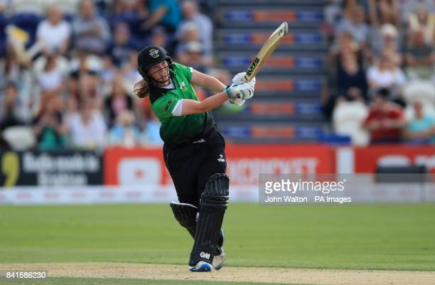 Western Storm's Anya Shrubsole during the Kia Women's Super League Finals Day at Central County Ground Hove