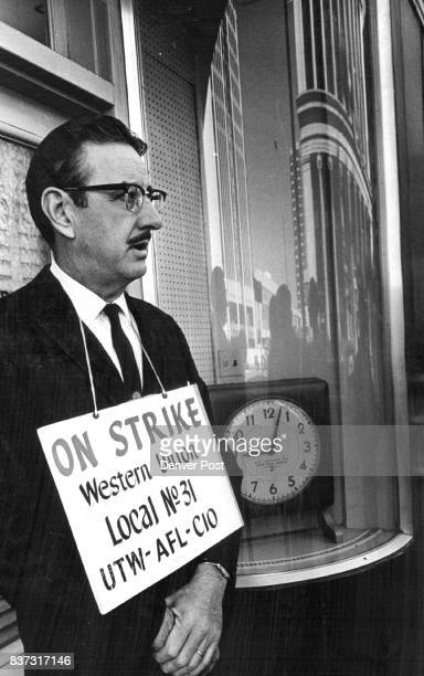 Western Union Office Picketed L E Yates was among members of Local No 31 United Telegraph Workers who picketed Western Union's main Denver office at...