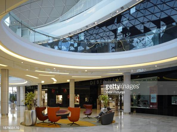 Westfield White CityUnited Kingdom Architect London Debenhams Westfield Four Iv Design Ground 1St Floor Store Fronts In View Showing Curved Opening...