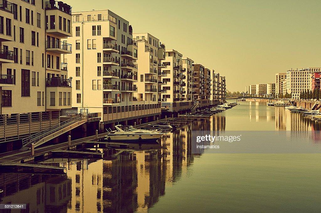 Westhafen in Frankfurt am Main