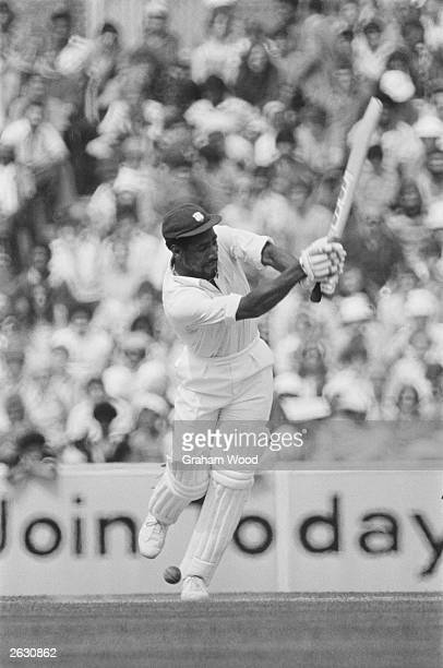 WestIndian cricketer Viv Richards batting against England at the 5th Test at The Oval London 16th August 1976