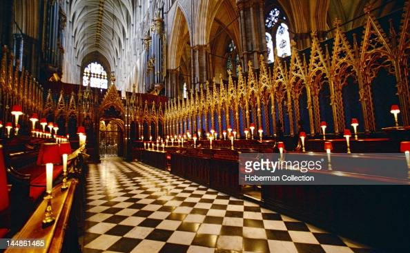 Westminster Abbey Interior London England United Kingdom