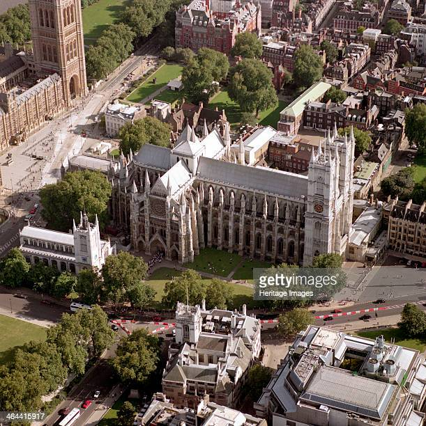 Westminster Abbey Westminster London 2002 A Benedictine monastery was founded on this site in the 7th or 8th century Edward the Confessor rebuilt an...