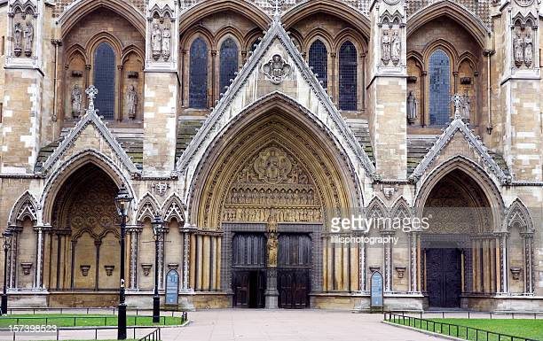 Westminster Ammey Entrance in London England