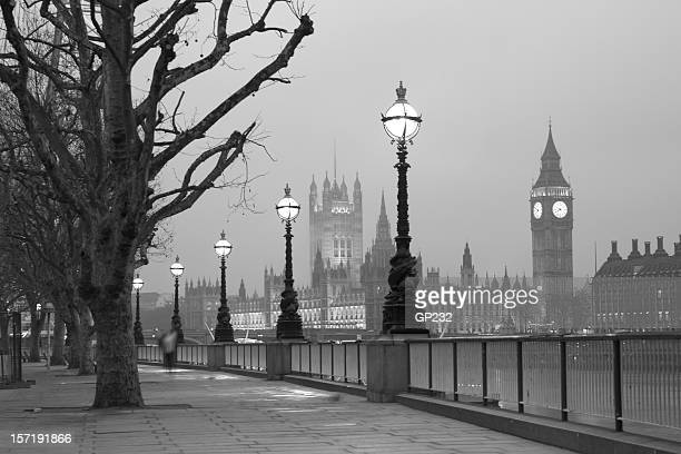 Westminster at dawn, London