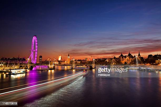 Westminster (London) at Sunset