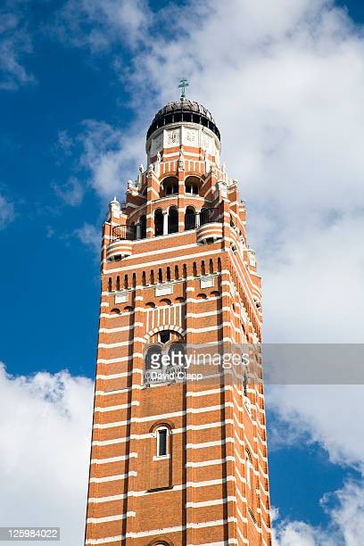 Westminster Cathedral tower, London, UK