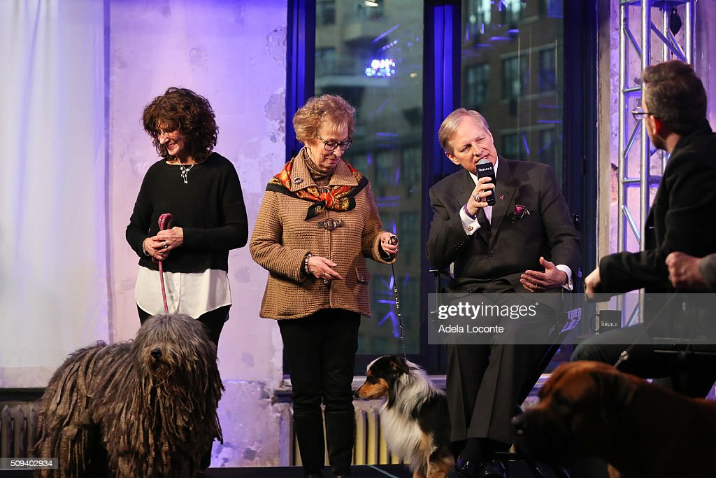 Westminster Kennel Club Dog Show David Frei discusses at AOL Studios In New York on February 10, 2016 in New York City.