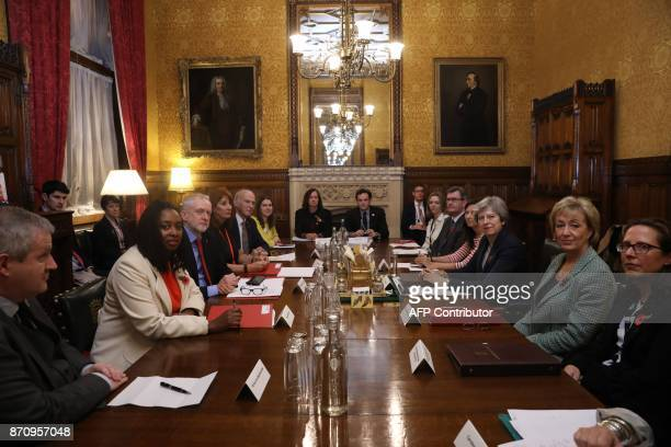 Westminster party leaders and politicians including SNP MP Ian Blackford Labour MP Dawn Butler Britain's opposition Labour Party Leader Jeremy Corbyn...