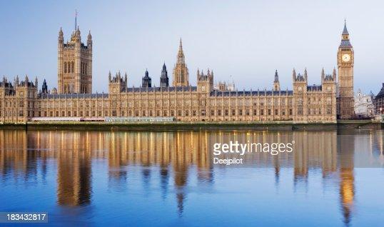 Big Ben e O Palácio de Westminster Londres