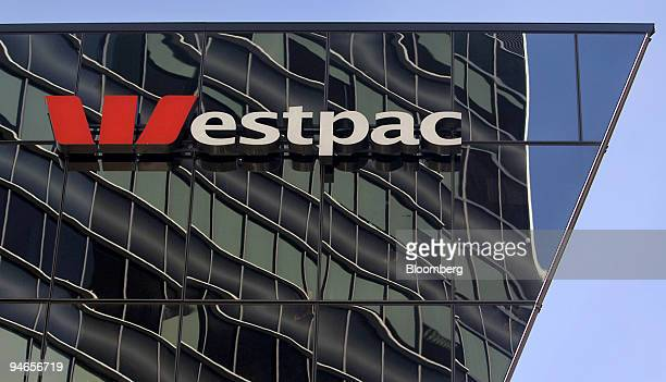 Westpac Bank signage is seen in Sydney Australia Thursday May 4 2006 Westpac Banking Corp Australia's fourth largest lender will sell shares in its...