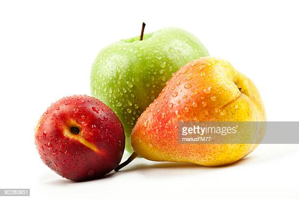 wet fruits