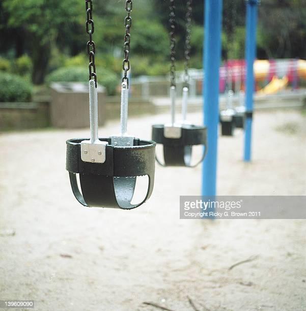 Wet swing set