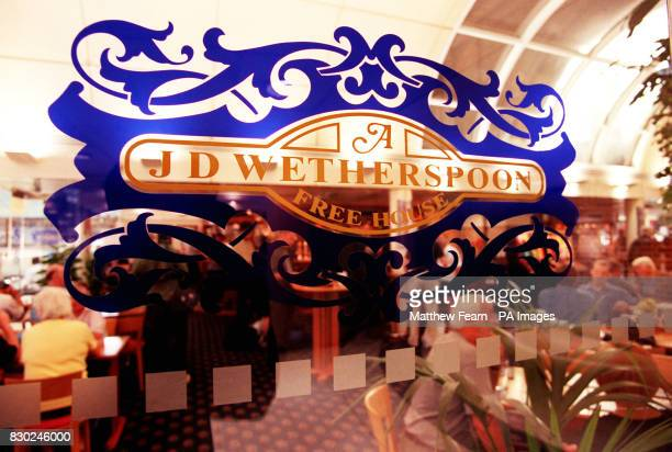 Wetherspoon public house in London's Victoria The company is to slash its prices and create 2500 jobs in a rapid expansion programme with 90 to 95...