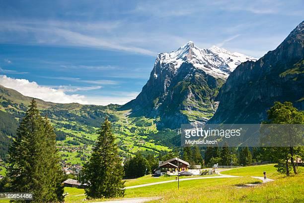 Wetterhorn, Swiss Alps