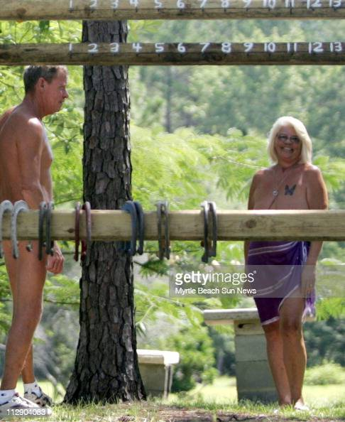 We've got plenty of activities here Gloria Waryas right says while looking around the pond and horseshoe pit at Whispering Pines near Ocean Isle...
