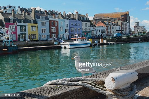 Weymouth Harbour : Stock Photo