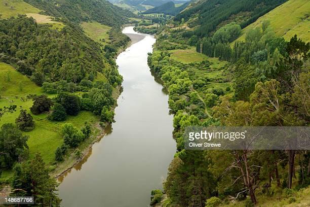 Whanganui River near Wanganui.