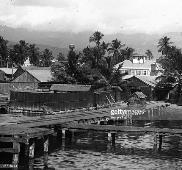 Wharf at Kingston Jamaica
