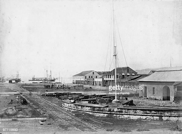 Wharf Port of Spain Trinidad