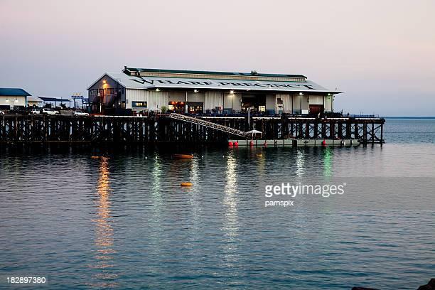 Wharf quartier de Darwin