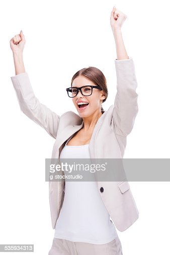 What a lucky day! : Stock Photo