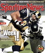 St Louis Rams TE Ernie Conwell September 17 2001 What a Week 1 The Rams battle past the Eagles in an overtime thriller
