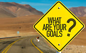 What Are Your Goals? road sign