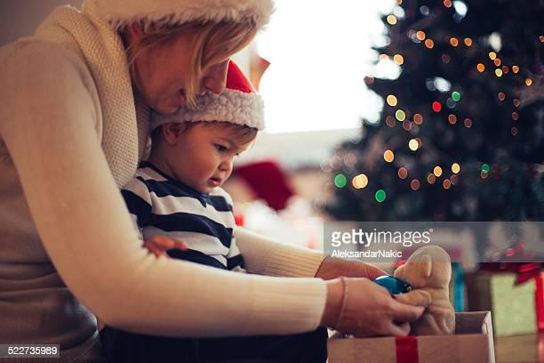 Cosa ti ha spinto a me per Natale, mommy?