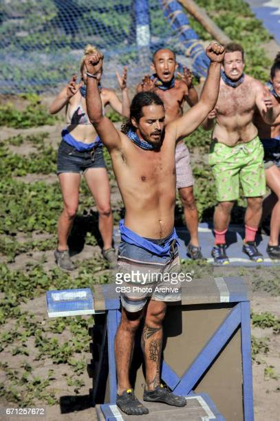'What Happened on Exile Stays on Exile' Oscar 'Ozzy' Lusth on the seventh episode of SURVIVOR Game Changers airing Wednesday April 12 on the CBS...