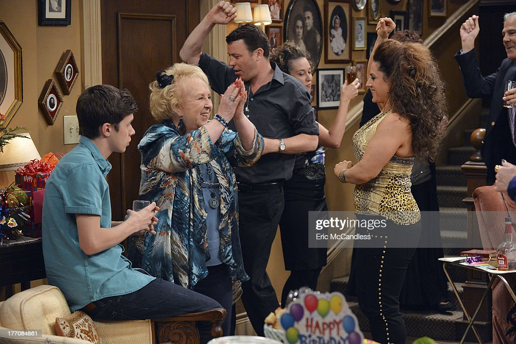 MELISSA & JOEY - 'What Happens in Jersey... Pt 1' - Mel must pose as Joe's ex-wife at his dying grandmother's birthday party in New Jersey, on the special two-part summer finale of 'Melissa and Joey.' 'What Happens in Jersey Part 1' airs Wednesday, August 28th , with 'What Happens in Jersey Part 2' concluding Wednesday, September 4th (8:00PM ET/PT). WINOKUR