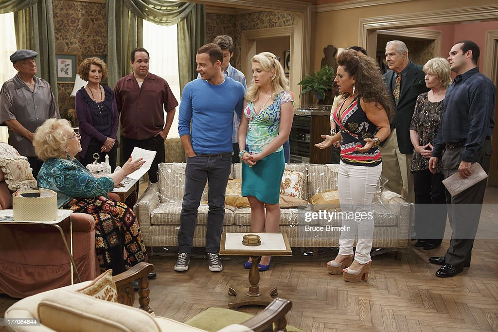 MELISSA & JOEY - 'What Happens in Jersey... Pt 2' - Mel must pose as Joe's ex-wife at his dying grandmother's birthday party in New Jersey, on the special two-part summer finale of 'Melissa and Joey.' 'What Happens in Jersey Part 1' airs Wednesday, August 28th , with 'What Happens in Jersey Part 2' concluding Wednesday, September 4th (8:00PM ET/PT). Photos by Bruce Birmelin / ABC Family Via Getty Images WINOKUR