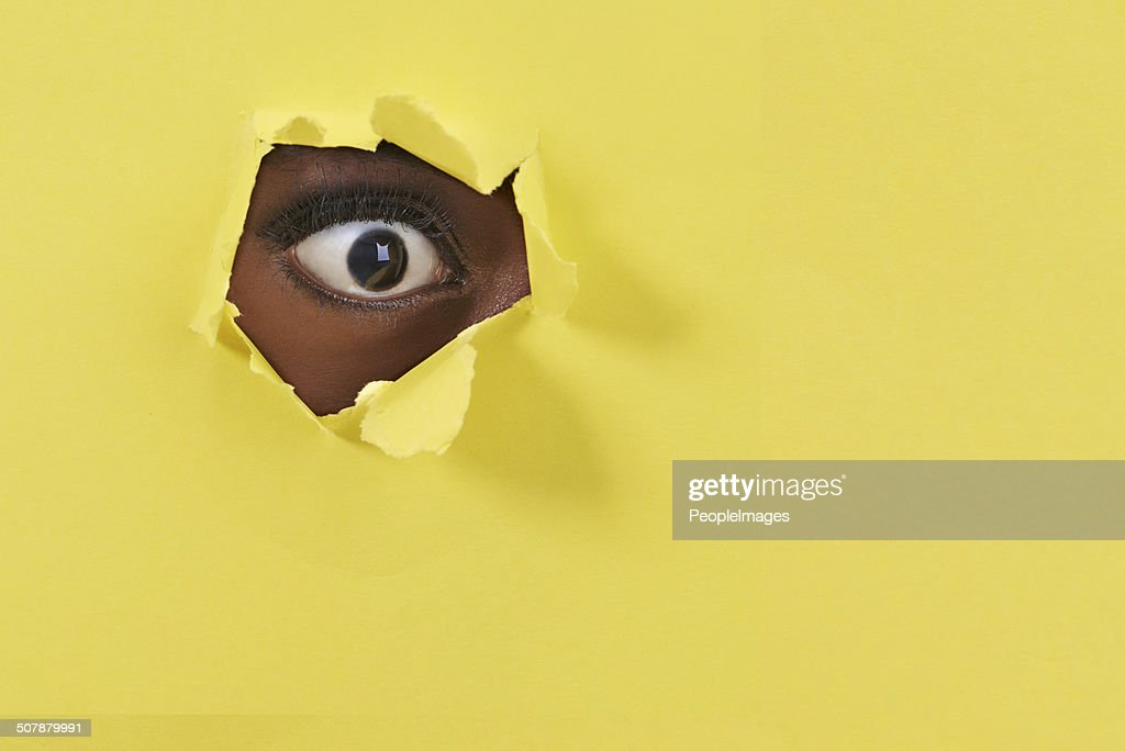 What! I can't believe my eye! : Stock Photo