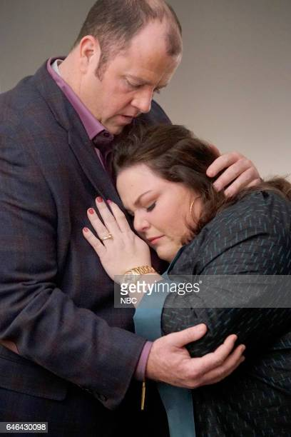 US 'What Now' Episode 117 Pictured Chris Sullivan as Toby Chrissy Metz as Kate
