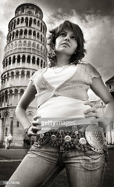 """""""¿qué demonios en Pisa estoy haciendo?"""""""