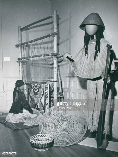 What the welldressed Indian woman wore can be seen in the current exhibit at Chappell House 1300 Logan St The figure at left represents a Navajo...