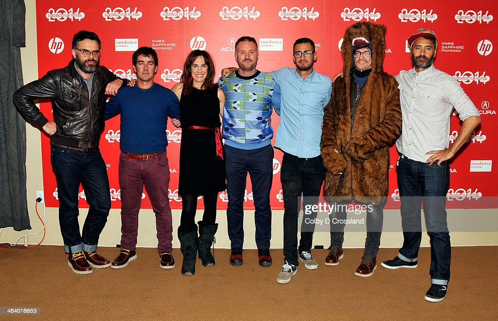 'What We Do In The Shadows' cast and crew attend 'What We Do In The Shadows' preimiere at the Egyptian Theatre during the 2014 Sundance Film Festival on January 19, 2014 in Park City, Utah.
