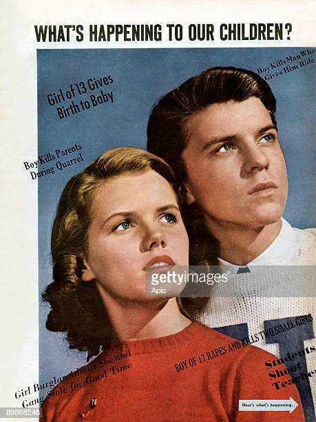 What's happening to our children thinking on degeneration of youth from american magazine McCall's in 1943
