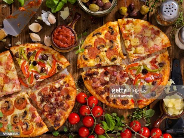 Was steht auf Ihrer Pizza?