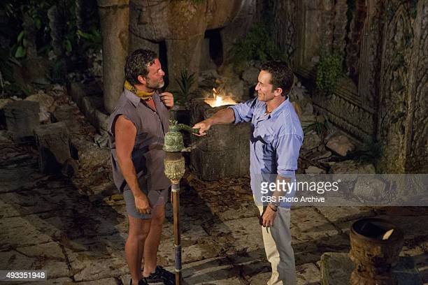'What's the Beef' Jeff Probst extinguishes Jeff Varner's torch at Tribal Council during the fourth episode of SURVIVOR Wednesday Oct 14 The new...