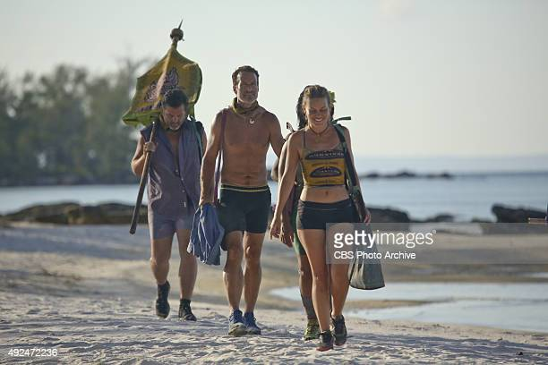 'What's the Beef' Jeff Varner Andrew Savage AbiMaria Gomes during the fourth episode of SURVIVOR Wednesday Oct 14 The new season in Cambodia themed...