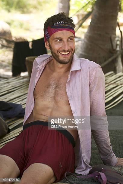 'What's the Beef' Stephen Fishbach during the fourth episode of SURVIVOR Wednesday Oct 14 The new season in Cambodia themed 'Second Chance' features...