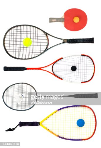 What's your racket : Stock Photo