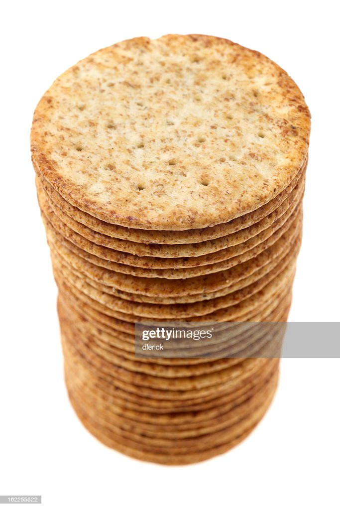 Wheat Crackers : Stock Photo