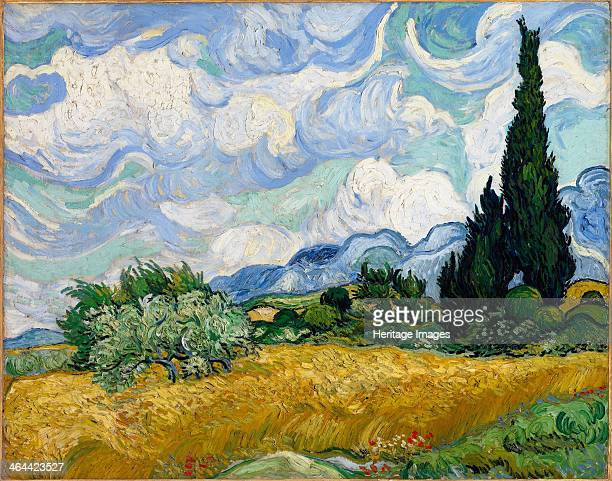 Wheat Field with Cypresses 1889 Found in the collection of the Metropolitan Museum of Art New York