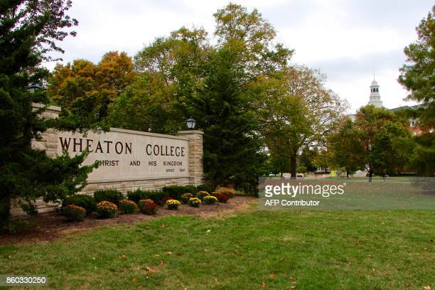 Wheaton College in suburban Chicago on October 11 2017 Five players from Wheaton are accused of abusing and beating a fellow teammate leaving the...
